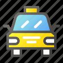 automobile, car, public, taxi, transport icon