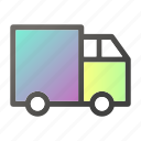 delivery, shipment, transport, transportation, truck, vehicle icon