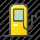 fuel, gas, gasoline, pump, station icon