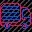 box, car, delivery, logistics, traffic, transport, transportation