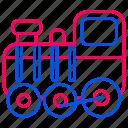 car, locomotive, traffic, train, transport, transportation icon