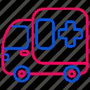 ambulance, car, medical, traffic, transport, transportation