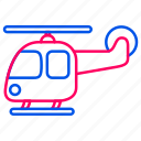 car, helicopter, traffic, transport, transportation icon
