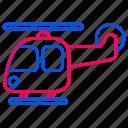 car, helicopter, traffic, transport, transportation