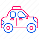 car, service, taxi, traffic, transport, transportation icon