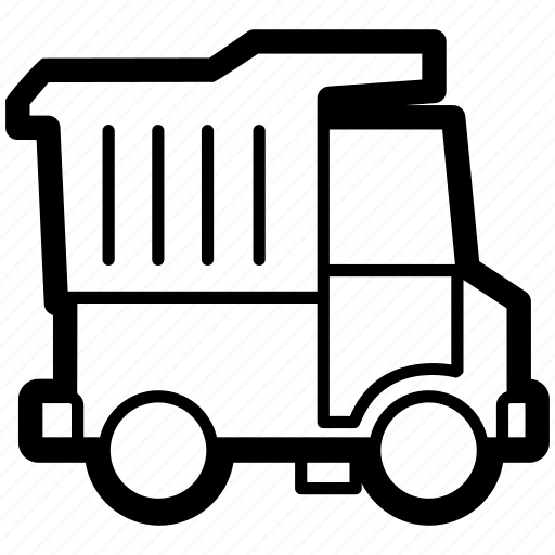 auto, car, dump, transport, truck, vehicle icon