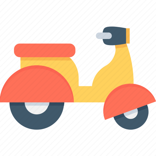 bike, motorbike, scooter, transport, vespa icon
