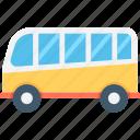 omnibus, bus, coach, transport, vehicle