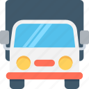 cargo, delivery van, logistics delivery, shipping, shipping truck icon