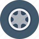 auto, automotive, car wheel, tire, wheel icon