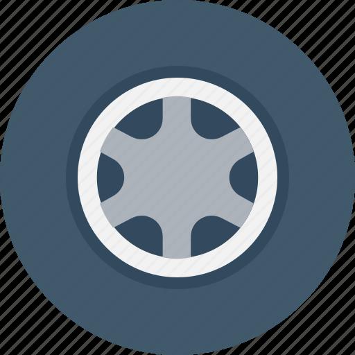 Auto, automotive, car wheel, tire, wheel icon - Download on Iconfinder
