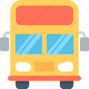 bus, coach, tour, transport, vehicle icon