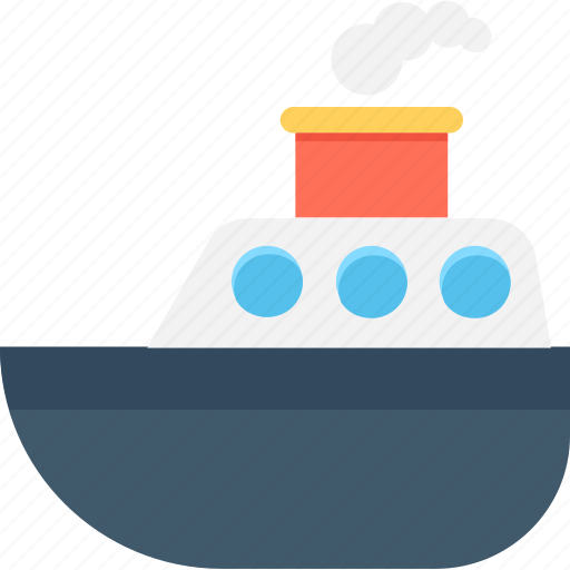 boat, cruise, ship, transport, vessel icon