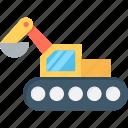 bulldozer, construction, cat bulldozer, excavator, crawler