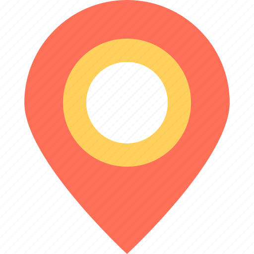 gps, location, map pin, navigation, placeholder icon