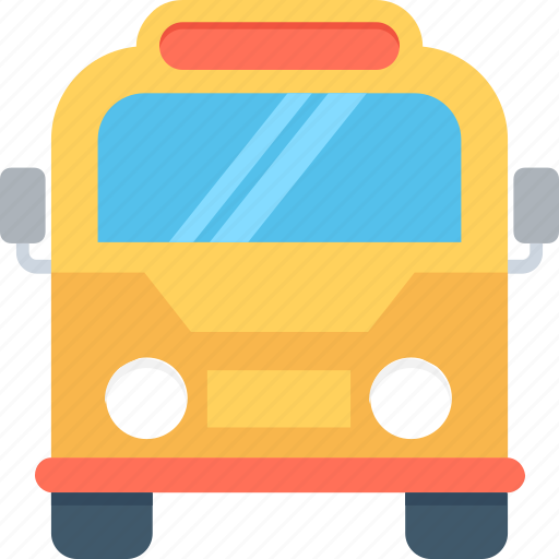 bus, coach, tour, transport, vehicle icon