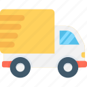cargo, delivery van, logistics delivery, shipping, shipping truck