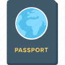 pass, passport, travel, travel permit, visa icon