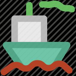 boat, cruise, luxury cruise, shipment, shipping, vessel, yacht icon