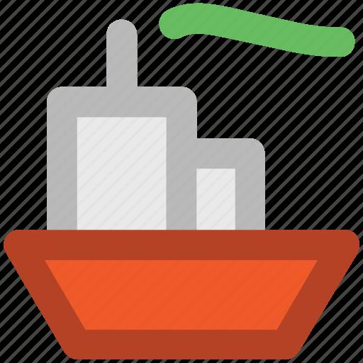 boat, cruise, luxury cruise, ship, shipment, shipping, vessel icon