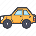 automotive, car, transport, travel, vehicle icon