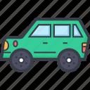 car, hatchback, luxury car, luxury vehicle, tour bus, transport
