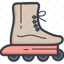 road skating, roller skating shoes, shoes, shoes wheel, skating icon