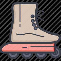 road skating, roller skating shoes, shoes, shoes wheel, skating icon
