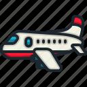 airplane, flight, transport, travel, airport
