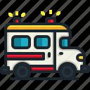 ambulance, emergency, automobile, medical, transport