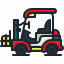 forklift, logistic, transportation, warehouse, parcel