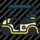 golf, cart, transportation, automobile, vehicle, car