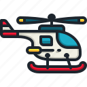 helicopter, aircraft, transportation, flight, vehicle