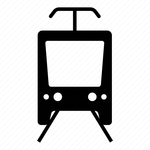 city, metro, train, tram, tram depot, transportation icon