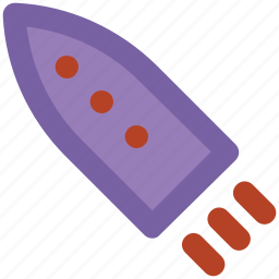 missile, rocket, space, spaceship, transport icon