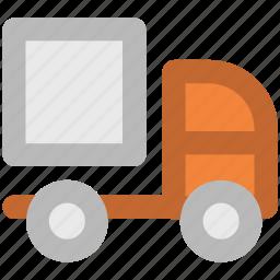 construction van, delivery, delivery car, logistics, truck, van, vehicle icon