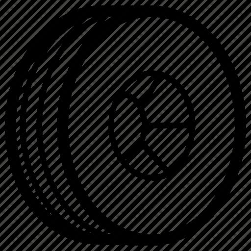 Automotive, car, rim, spare, tire, wheel icon - Download on Iconfinder