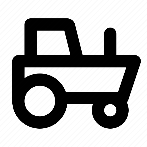 car, farm, tractor, transport, vehicle, works icon