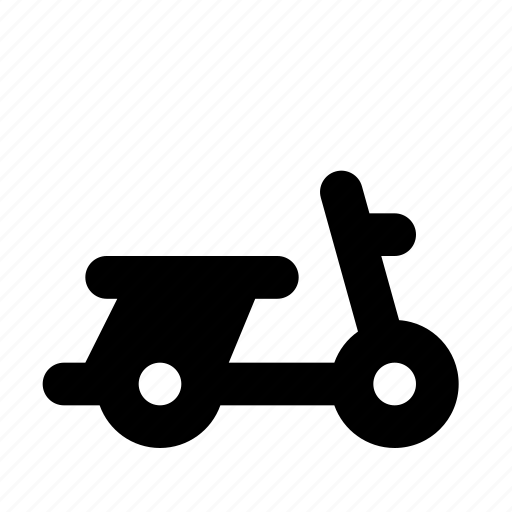 bike, retro, scooter, transit, transport, travel, vespa icon