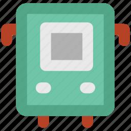bus, public transport, public vehicle, transport, transport vehicle, vehicle icon
