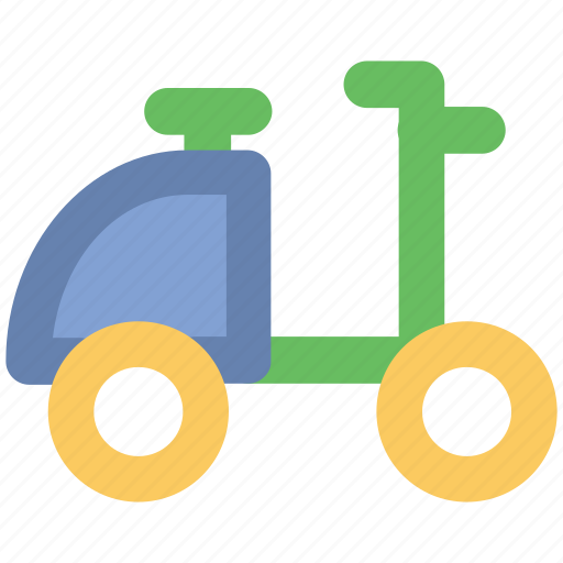 motorcycle, motorscooter, scooter, scooty, transport, travel, vespa icon