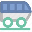 locomotive, subway, train, train box, tram, tramway, vehicle icon
