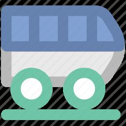 locomotive, subway, train, train box, tram, tramway, vehicle icon