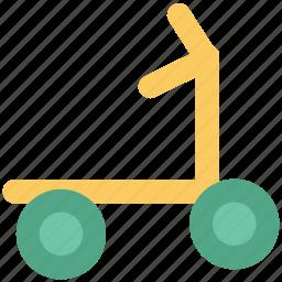 bike, motorcycle, racing motorcycle, scooter, sport bike, stunts icon