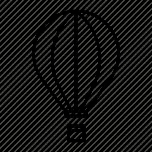air, balloon, hot icon