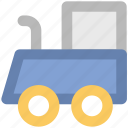 diesel engine, locomotive, steam engine, train engine, tram engine icon
