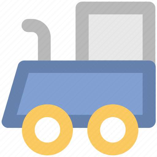 diesel engine, locomotive, steam engine, train engine, tram engine icon