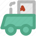 diesel engine, locomotive, steam engine, train engine icon