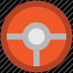 automobile, automotive, car, car steering wheel, driver, steering, wheel icon