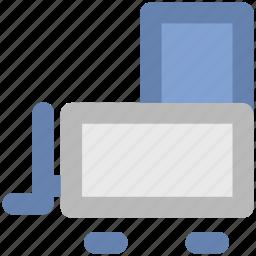 crane, lifter vehicle, luggage lifter, machine, transport, vehicle icon